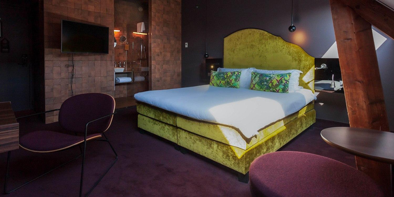 Comfort kamer hotel Staats Haarlem